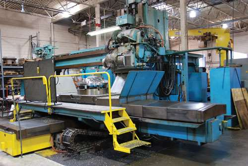 Sundstrand five-axis machine