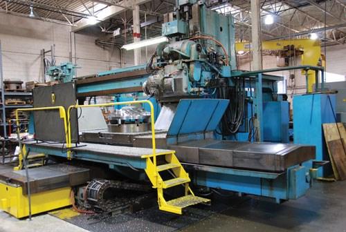 Sundstrand five-axis machine