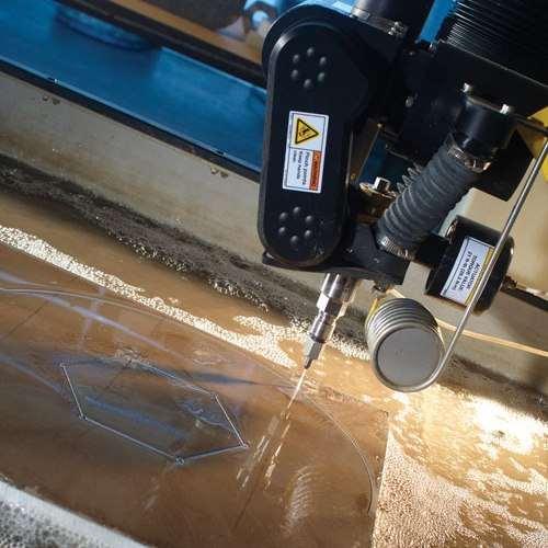 waterjet machining