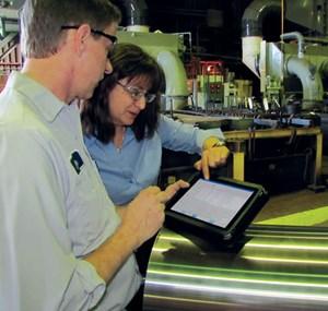 Hadronics uses iPad