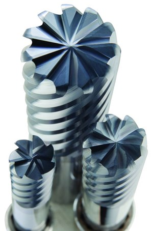 SGS Tool Company Multi-Carb finishing end mill