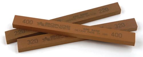 Boride Engineered Abrasives Rasp polishing stone