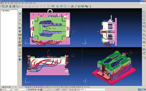 Delcam PowerShape CAD software