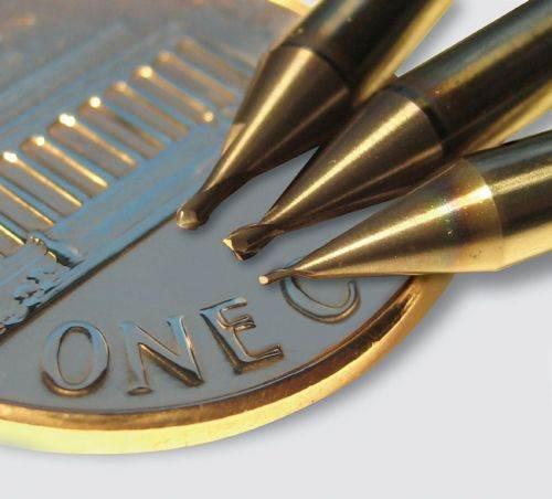 Emuge solid carbide micro end mills