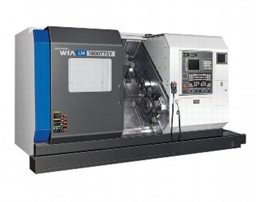 Hyundai Wia LM1600/1800TT multitasking CNC turning center