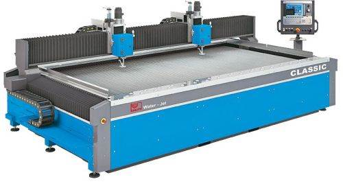 Knuth premium waterjet cutting systems