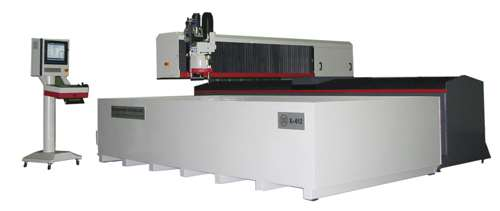 MC Machinery Systems Mitsubishi MWX3 waterjet