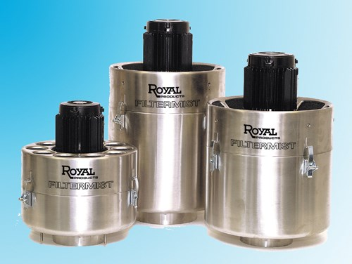 Royal Products Filtermist FX-Series mist collector