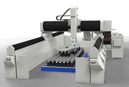 MAG's Precision Mill and Trim (PMT) gantry mill