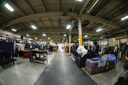 BCI machine shop