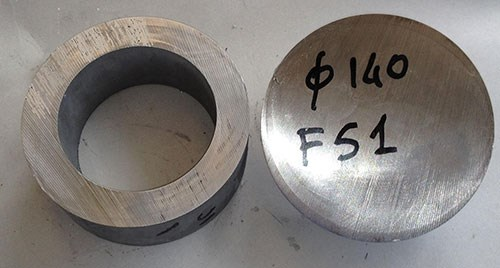 solid and Hollow Bar blanks
