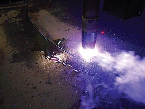 plasma-cutting system