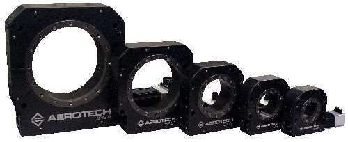 Aerotech AGR series motorized rotary stages