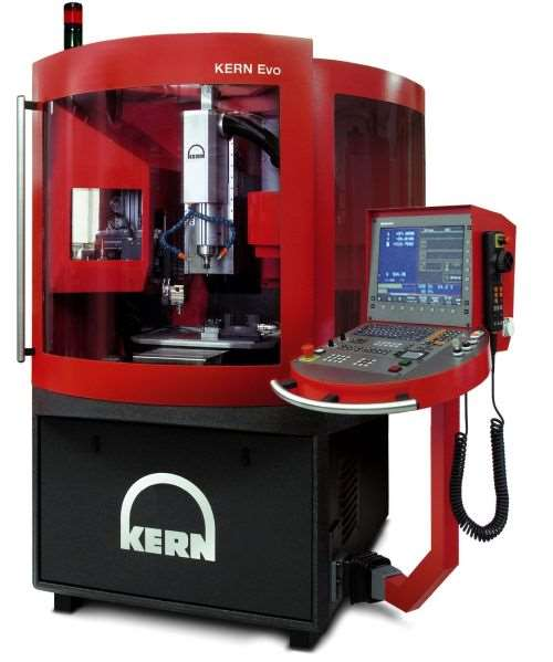 Kern Evo CNC machining center