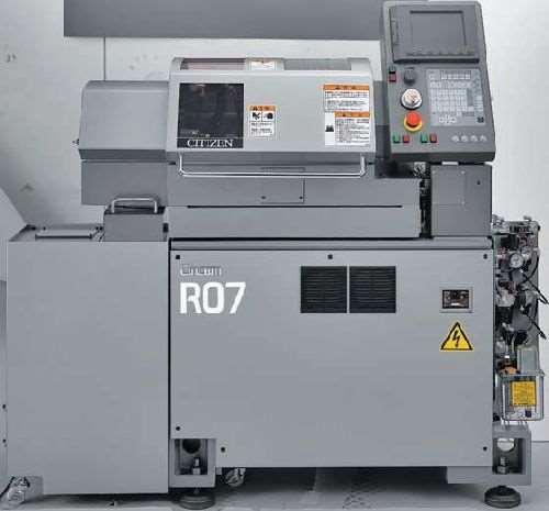 Marubeni R07 Cincom CNC lathe