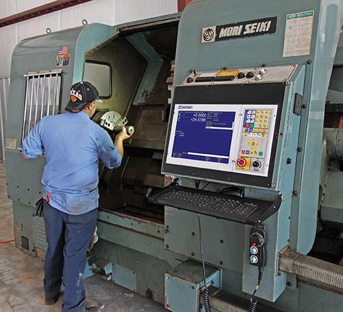 Mori Seiki SL-5H turning center at Northwest Machining Services