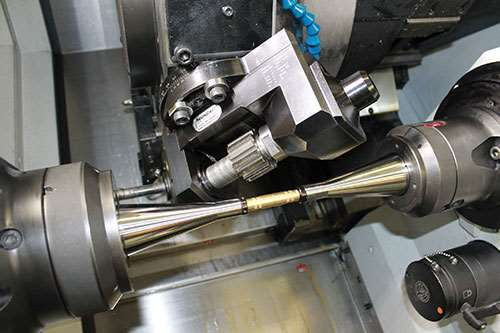 strong bearing structure in hobbing tool
