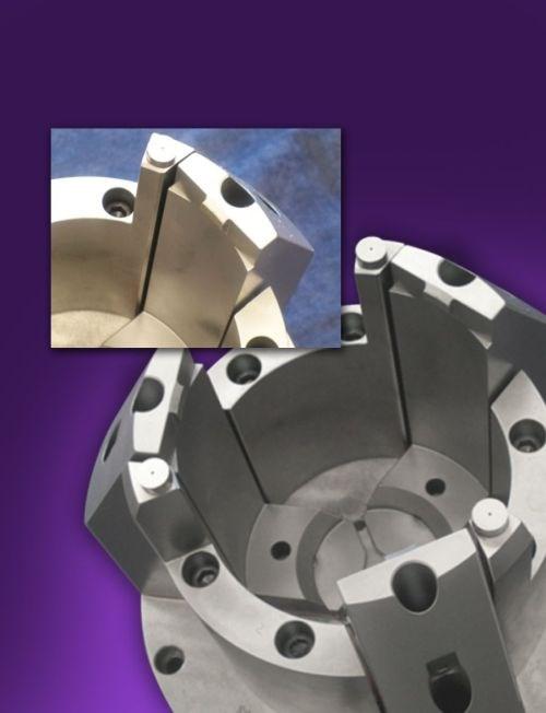 Northfield Precision Model 1000 sliding-jaw air chuck