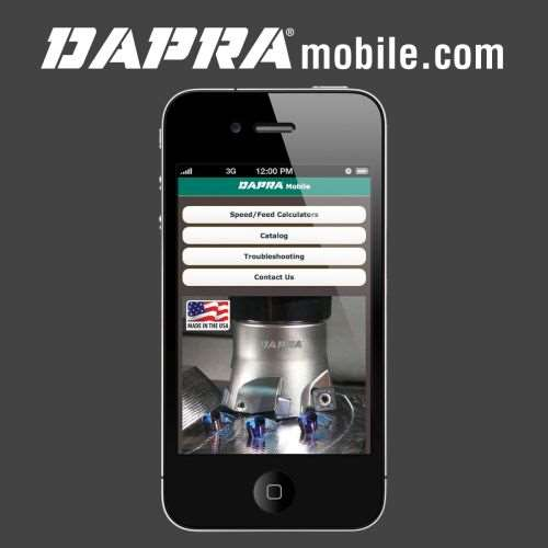 Dapra Corporation mobile website
