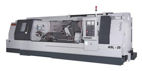 Ganesh ASL series boxway slant-bed CNC lathe