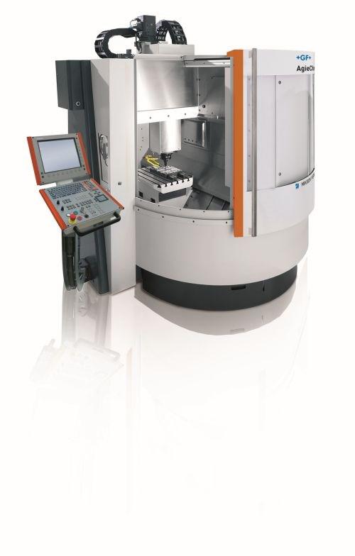 GF Machining Solutions Mikron HSM 500 MoldMaster milling machine