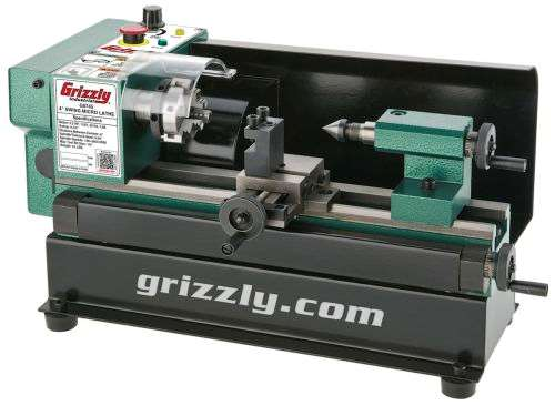 Grizzly Industrial G0745 Micro Metal lathe