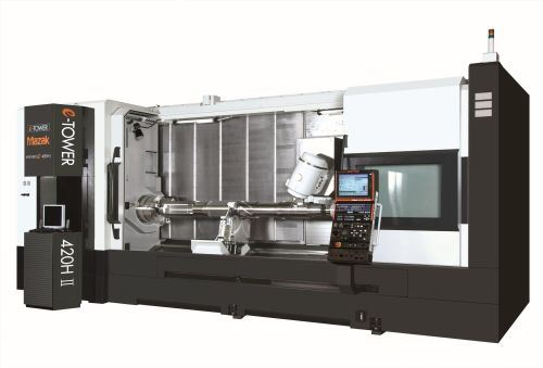 Mazak Integrex e-420H II multitasking machine