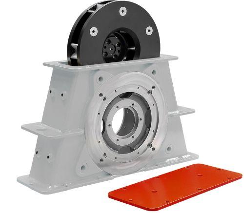 Rutten turbines for shot-blasting machines