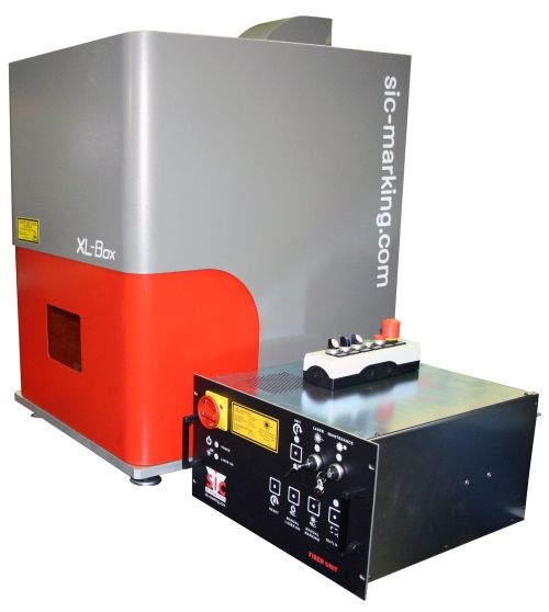SIC Marking XL-Box laser marking workstation