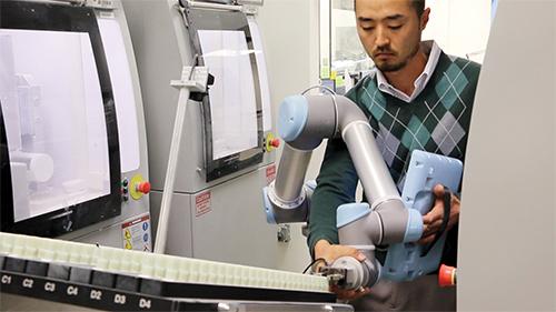 Automation engineer Daniel Phee