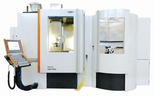 GF machining Solutions Mikron HEM 500U mill