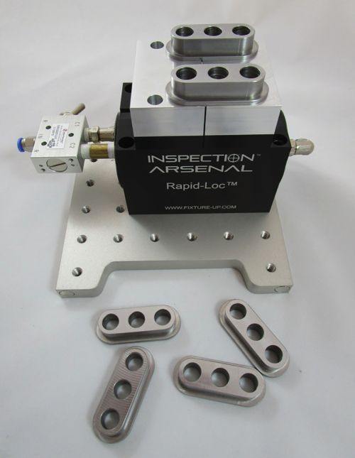 Phillips Precision pneumatic vise