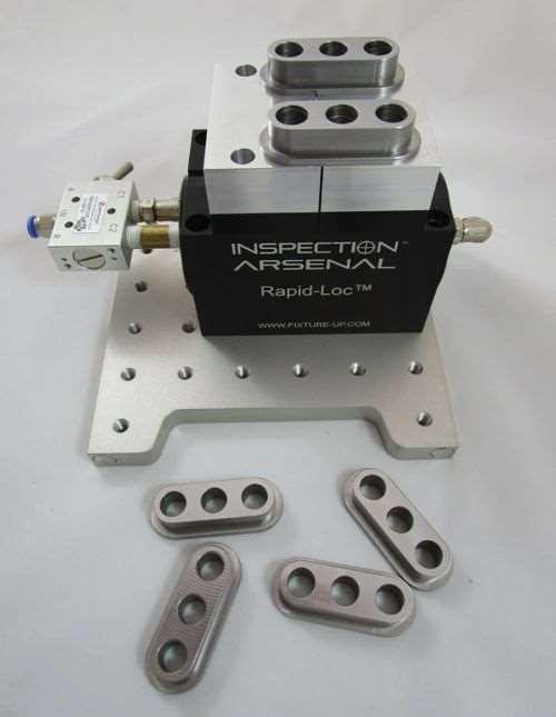 Phillips Precision pneumatic vise