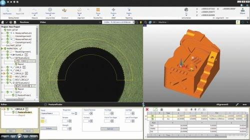 Optical Gaging Producs QVI Zone3 CAD software
