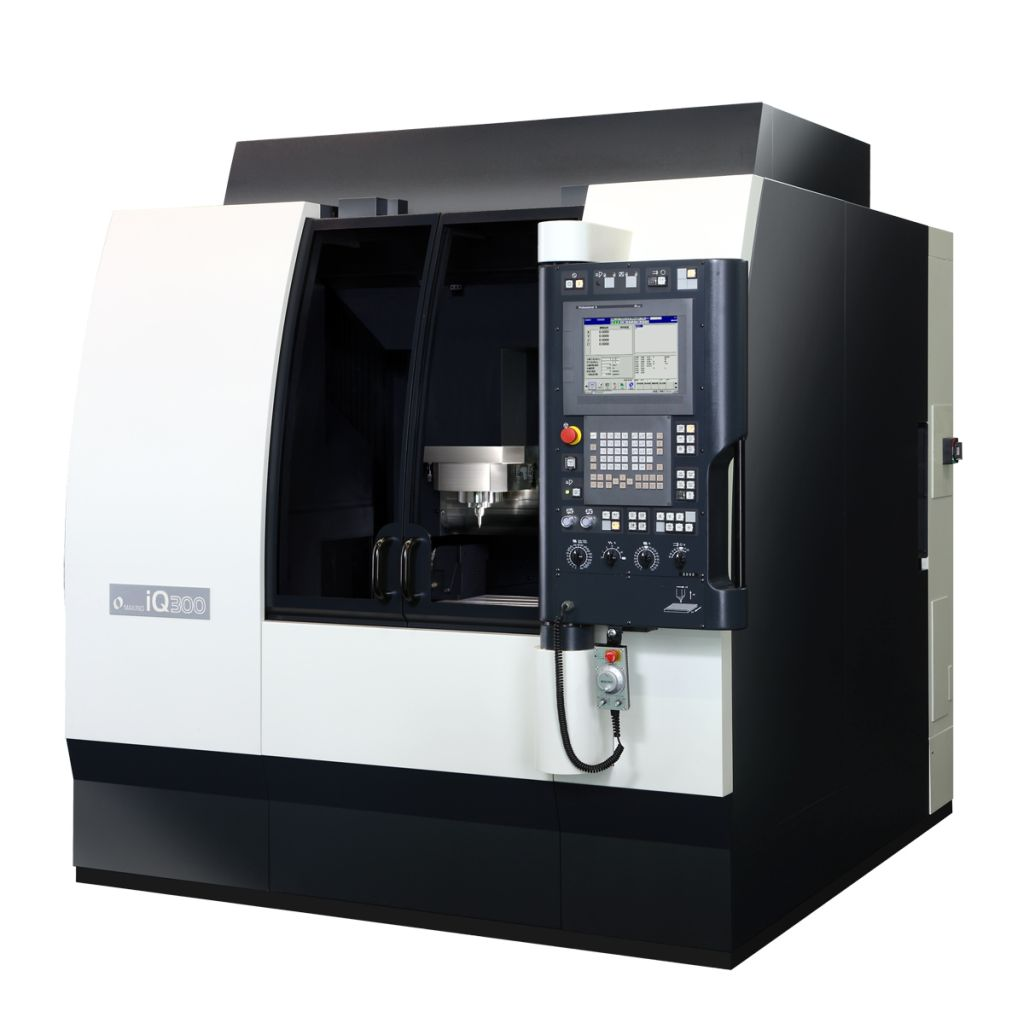 Makino iQ300 micromachining center