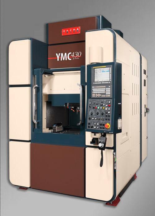 Yasda YMC 430 Ver. II micromachining center