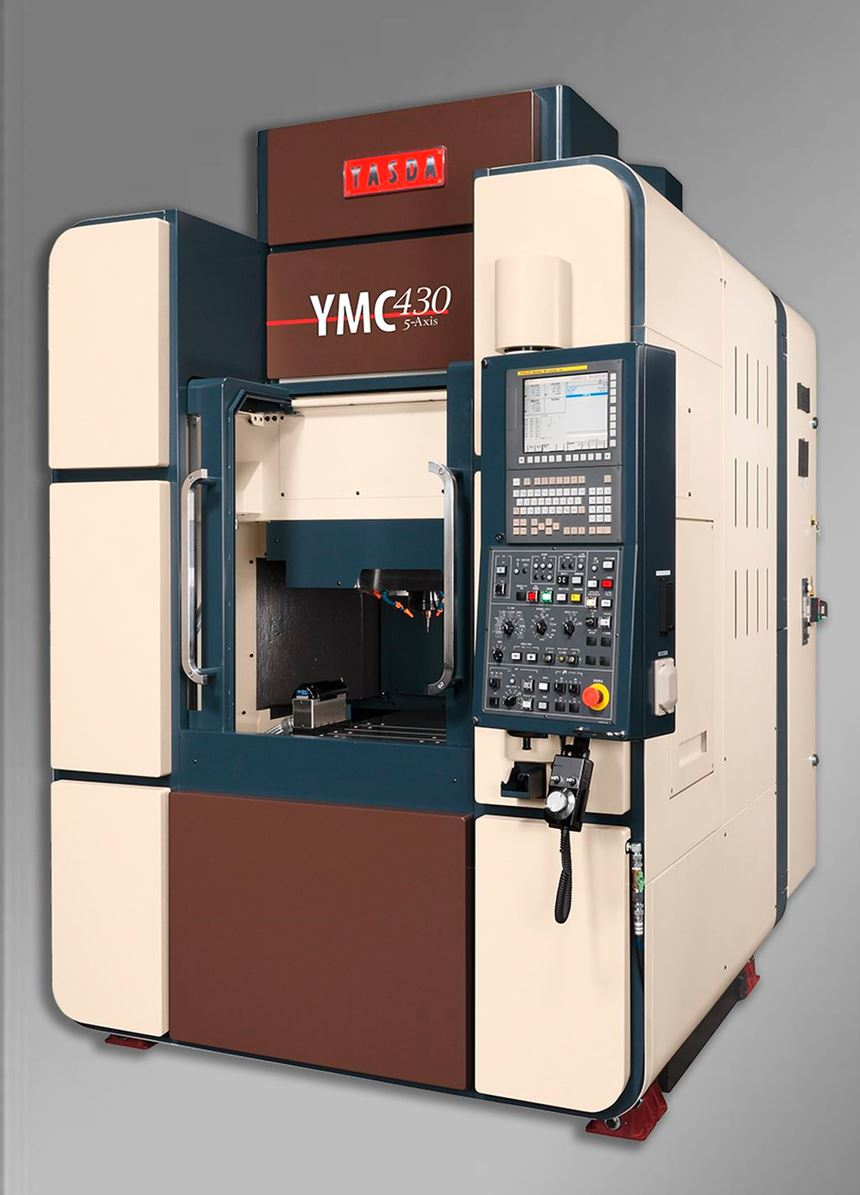 Yasda YMC 430 Ver. 11 micromachining center