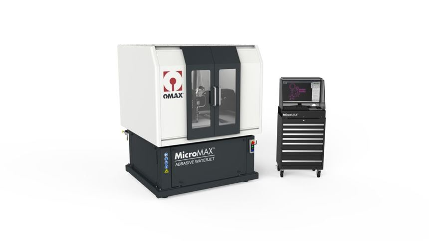 Omax MicroMax JetMachining Center