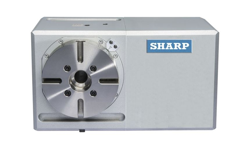 Sharp Industries Model SR-6.7 rotary table
