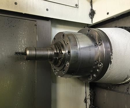 The Fahrion Centro P collet chuck system has helped Manufacturing Partners improve tool life by at least 40 percent.