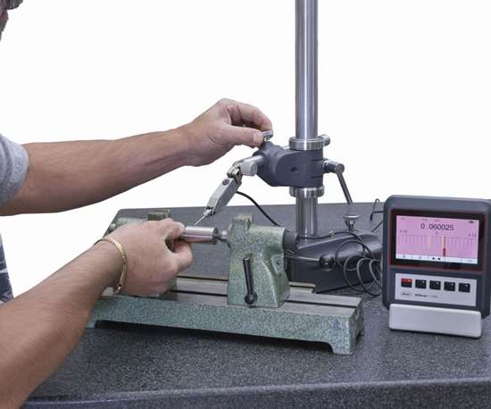 electronic height stand measuring system
