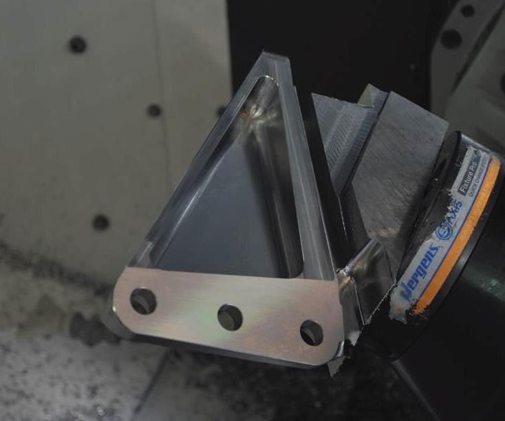 engine mount workpiece