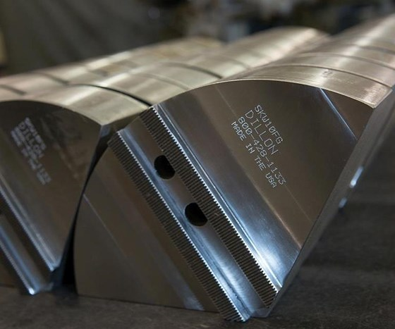 Dillon Manufacturing full-grip jaws
