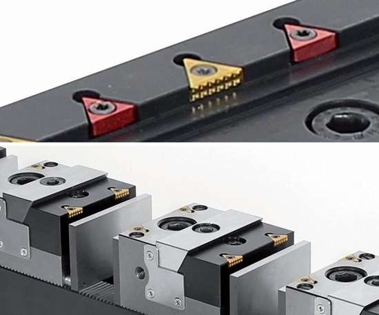 Fixtureworks TriMax vises and TriGrip grippers