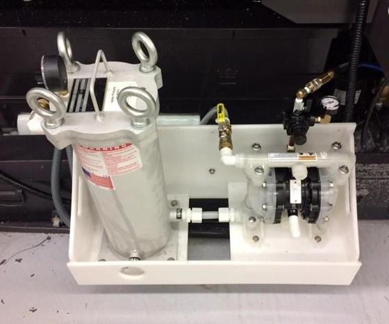 Keller Products filtration system