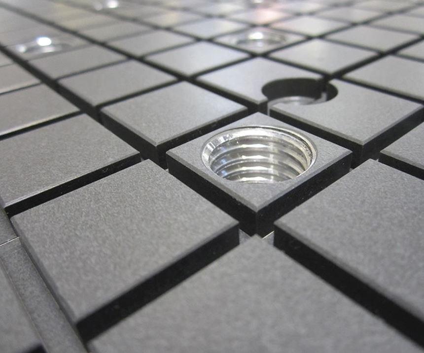 TCI Precision Metals vacuum workholding