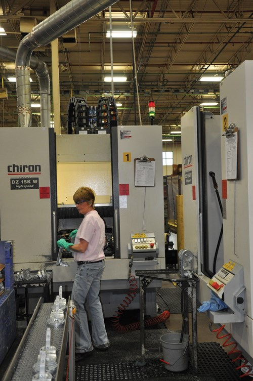 Chiron two spindle machines