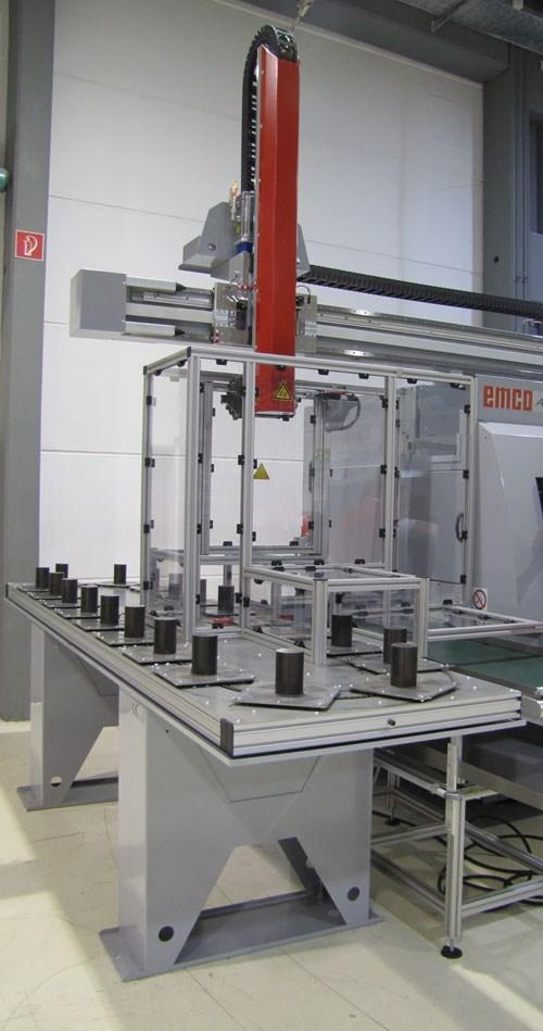 Gantry loader/unloader system