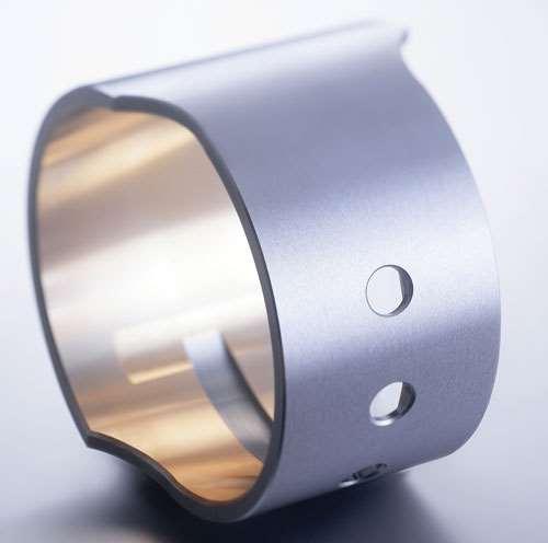 Miba large piston bearings