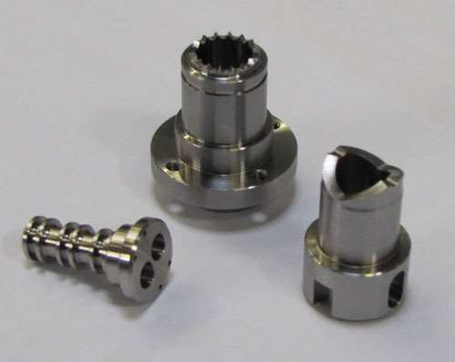 small workpieces produced on Hyperturn 4